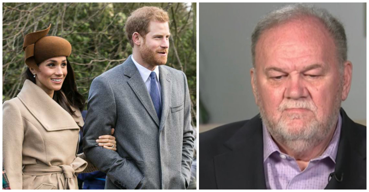Meghan Markle's Father Finally Speaks Out About Not Attending The Royal Wedding