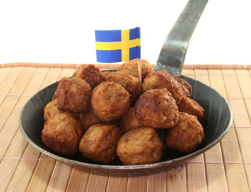 swedish meatballs from IKEA
