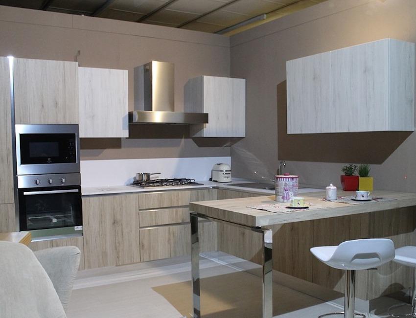 kitchen layout display in ikea