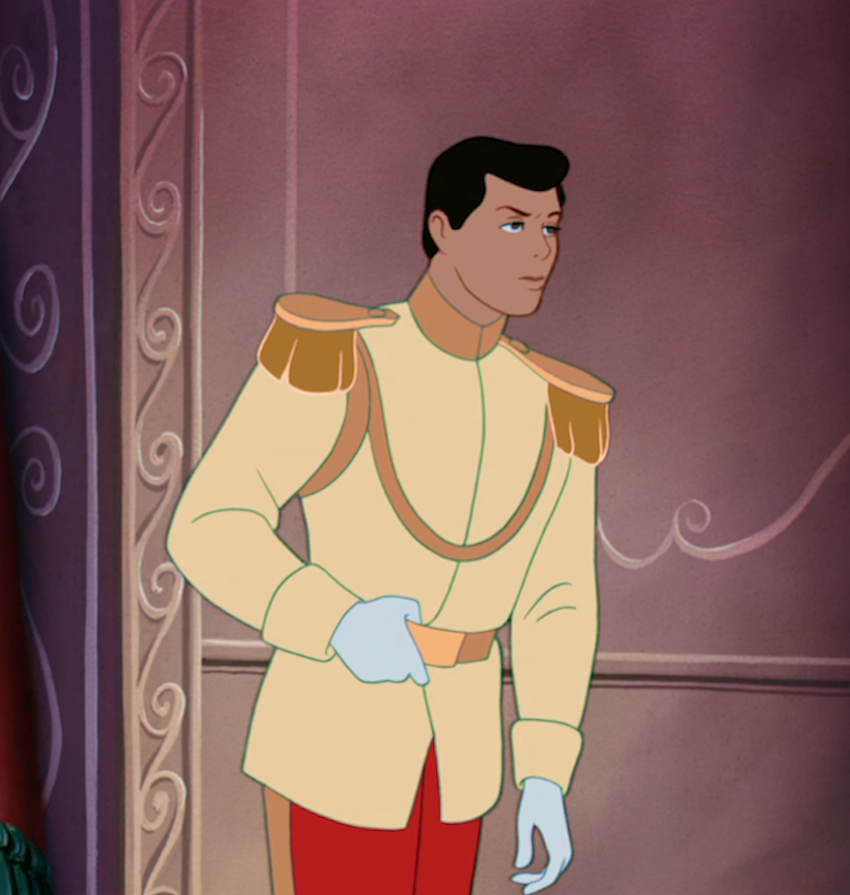 prince charming from 1950 cinderella