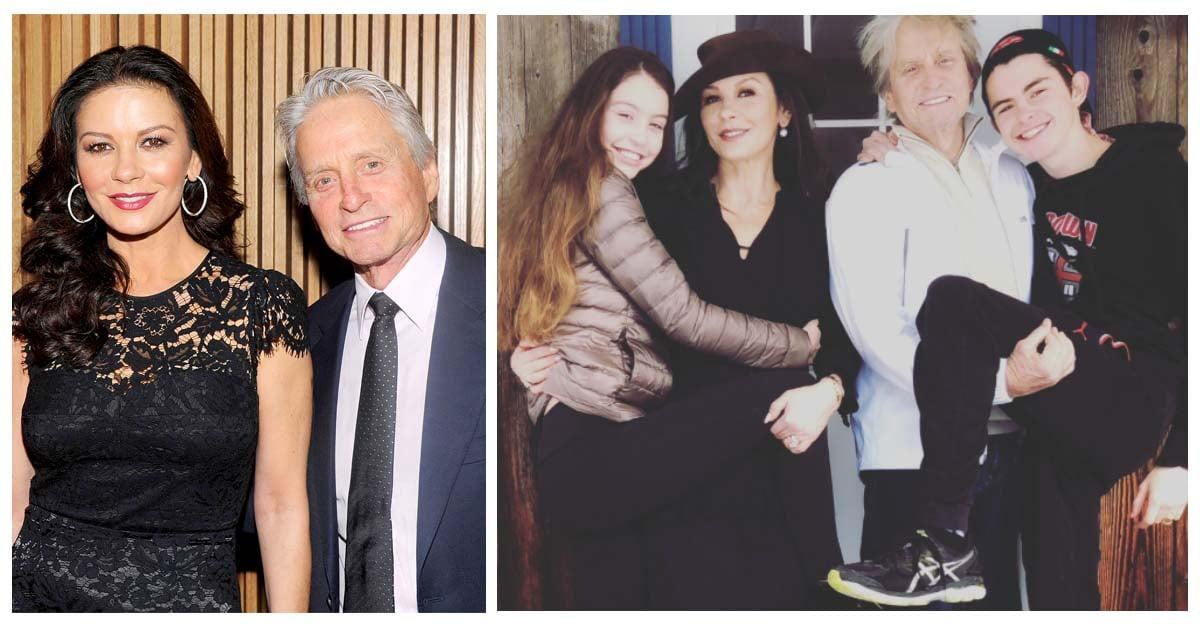Michael Douglas And Catherine Zeta-Jones's Kids Are All Grown Up