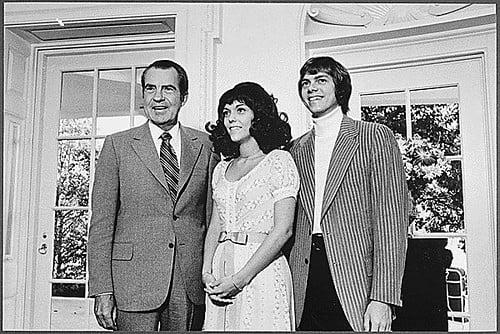 Nixon with The Carpenters
