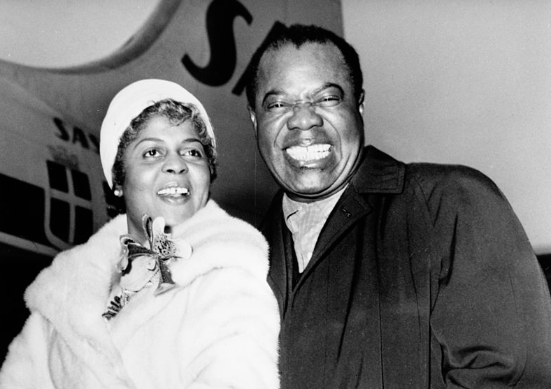 lucille wilson louis armstrong