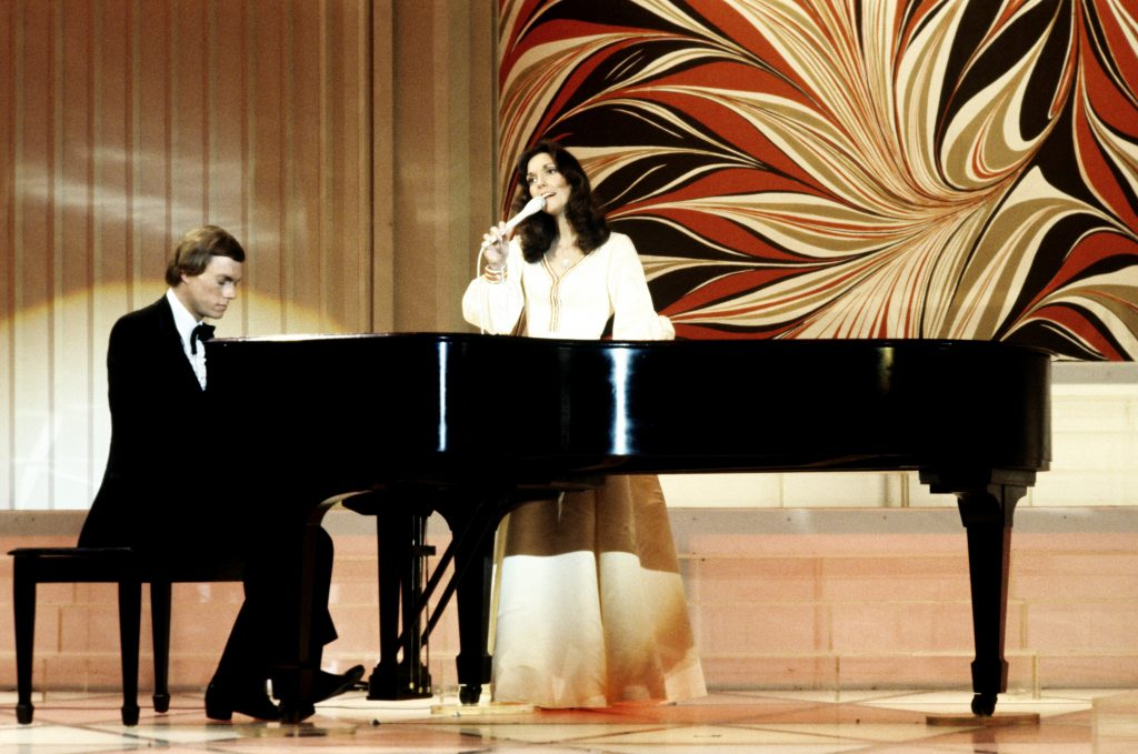 The Carpenters in 1978 performing at ABC's 25th Anniversary Special