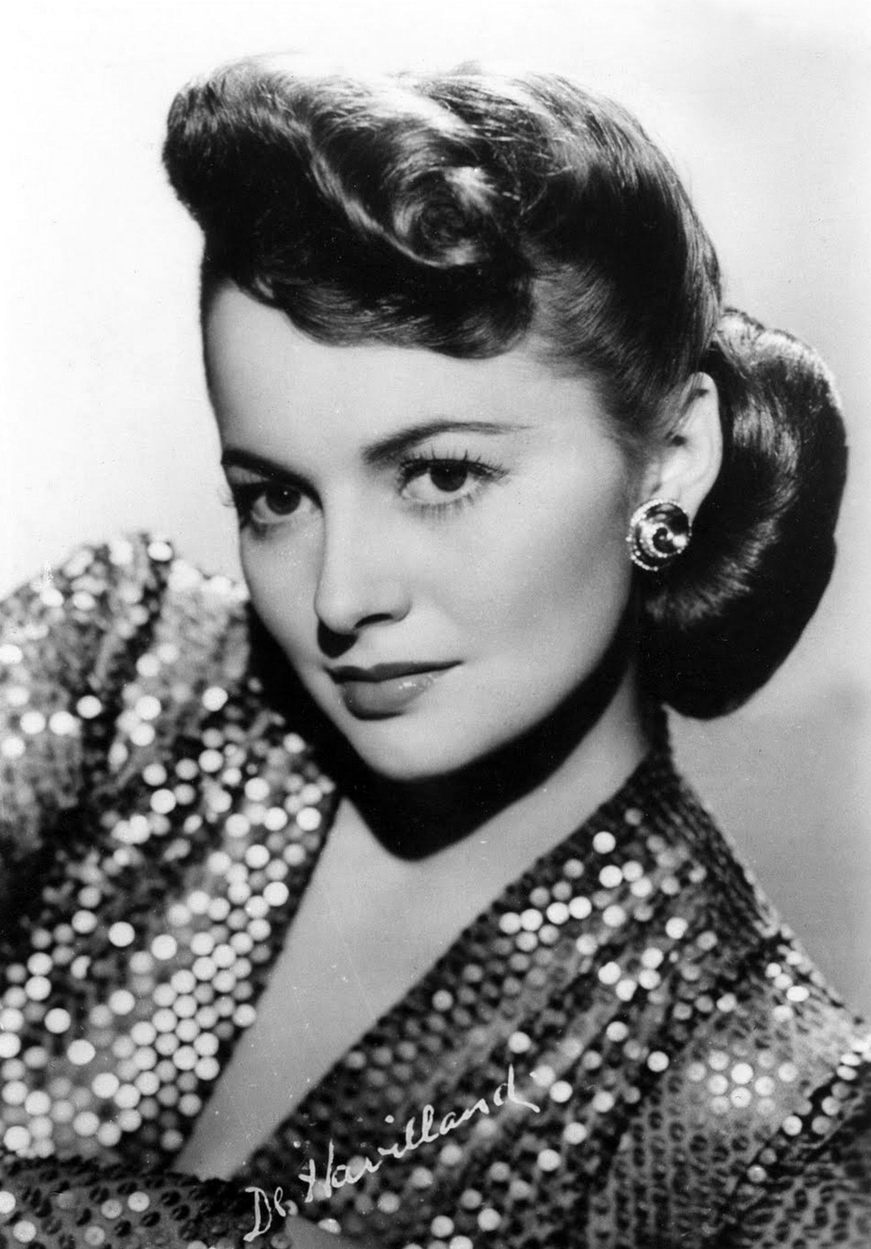 actress olivia de havilland