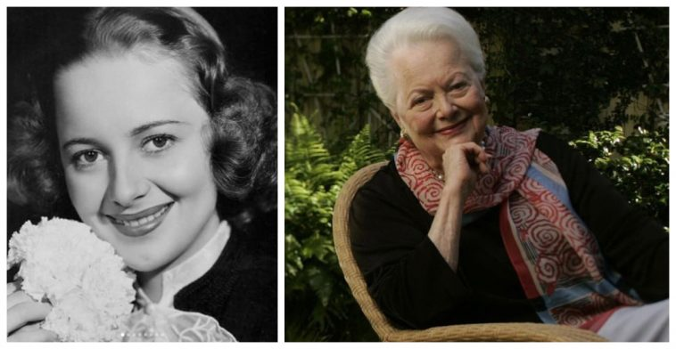 olivia de havilland outlives the rest of the gone with the wind cast