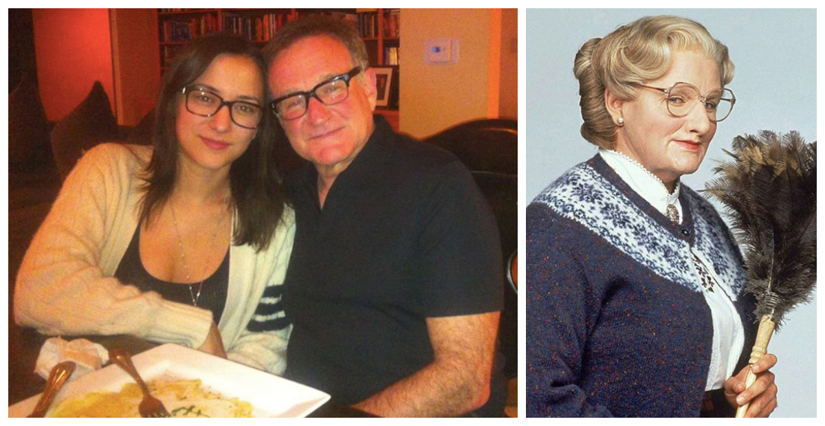 Robin William's Daughter Posts Touching Tribute In Honor Of His Upcoming Birthday