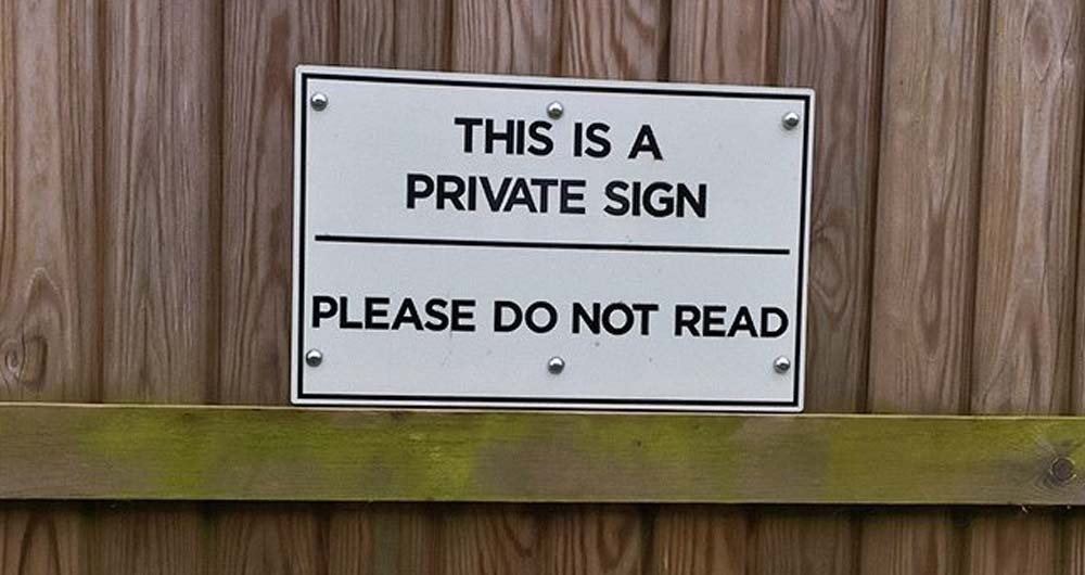 Funny Signs: 6 Hilarious And Strange Signs From Around The World