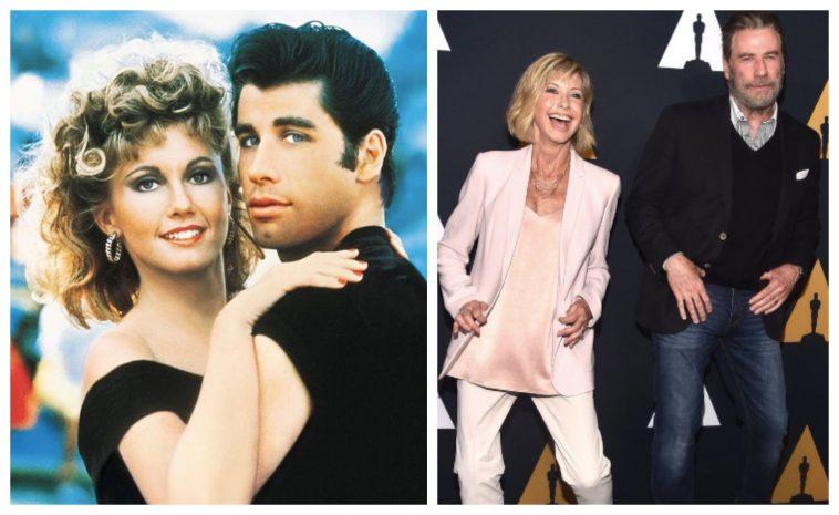 John Travolta And Olivia Newton-John Reunite For 40th