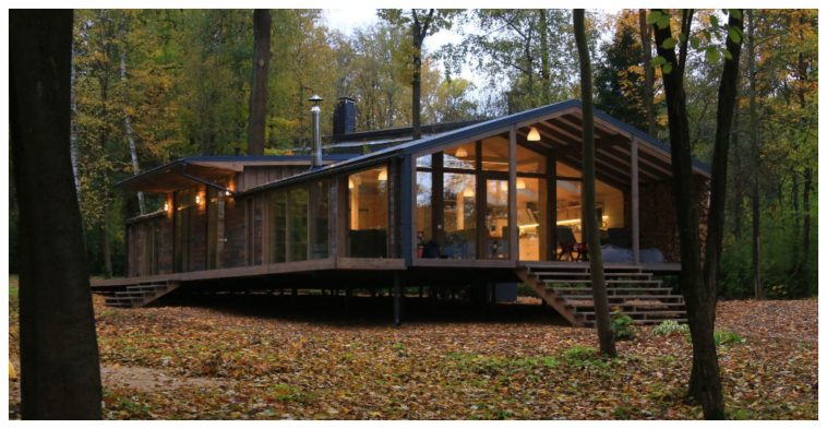 This Gorgeous Prefab Cabin In Russia Only Costs 80 000