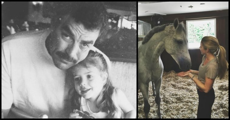 Tom Selleck's Daughter, Hannah, Is All Grown Up And