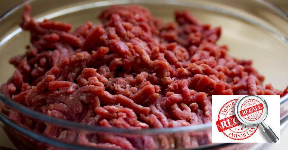 Latest Food Recall: 12 Tons Of Ground Beef Recalled Over E. Coli
