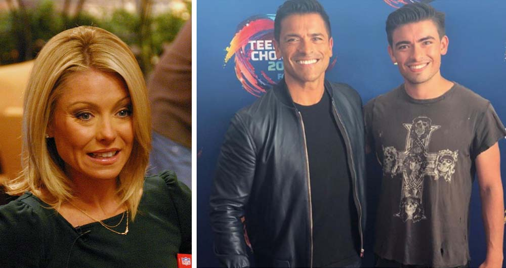 Kelly Ripa And Mark Consuelos's Mini-Me Son Will Play A Younger Version Of His Father On TV