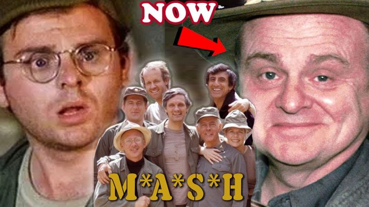 mash cast then and now