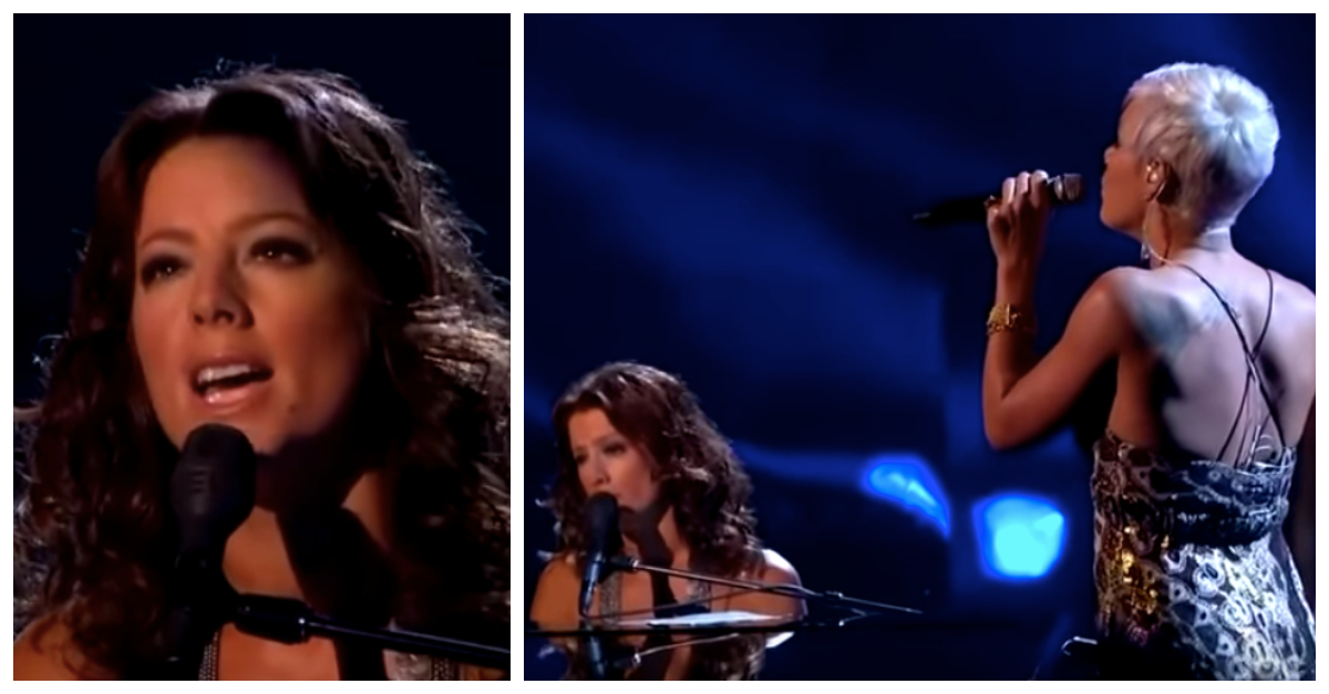 "Sarah McLachlan Singing ""Angel"" With Pink Will Give You Chills"