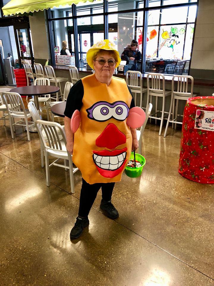 mrs potato head costume