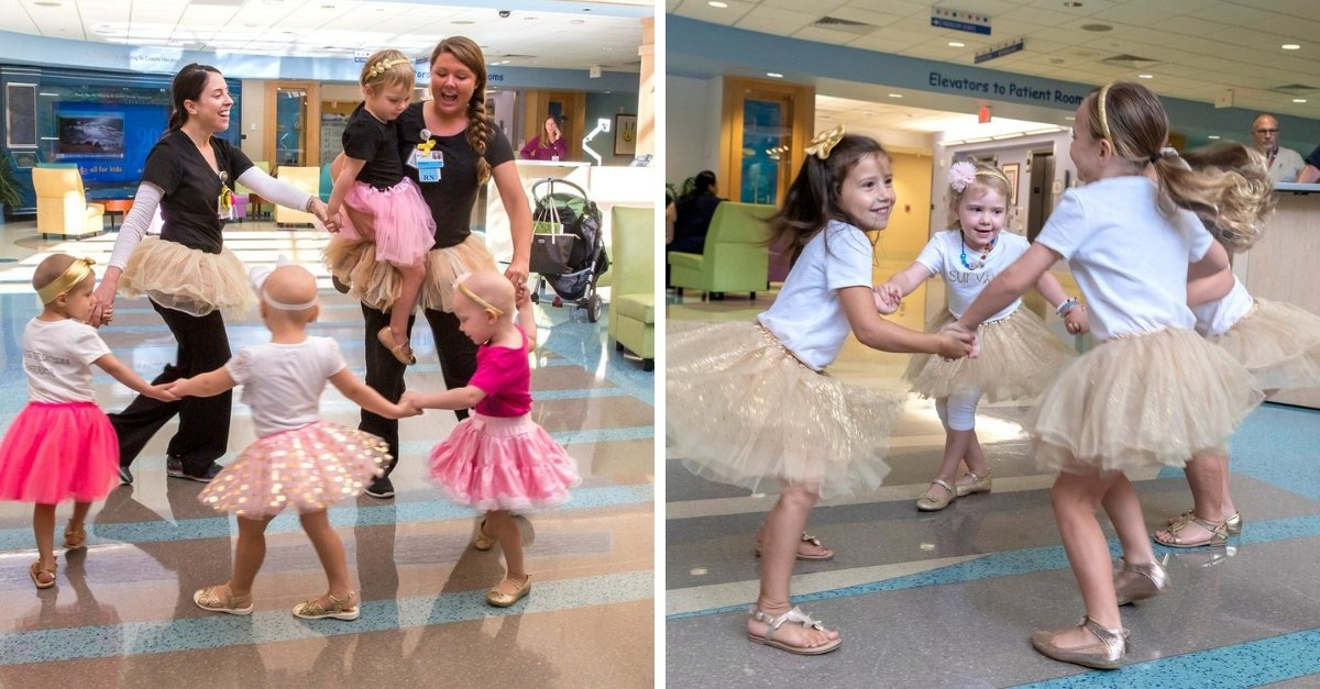 Four Little Girls Reunite After All Beating Cancer Together