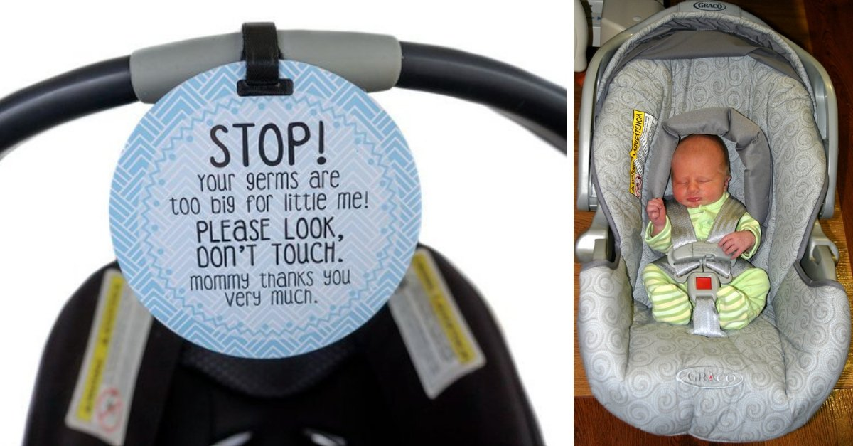 Parents Are Putting This Obvious Sign On Their Baby's Car Seats