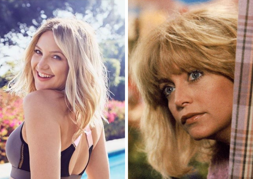 Daughter Kate Hudson with Mother Goldie Hawn Lookalike