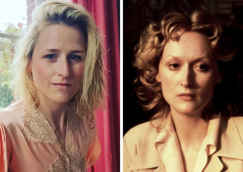 Mother Meryl Streep pictured next to daughter Mamie Gummer