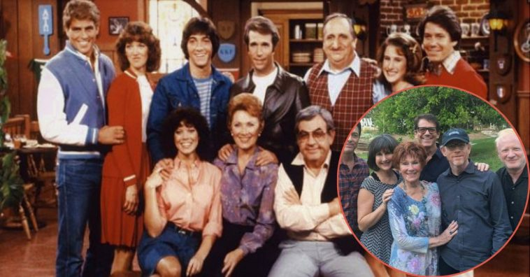 This Is What The Cast Of 'Happy Days' Looks Like – Then And Now