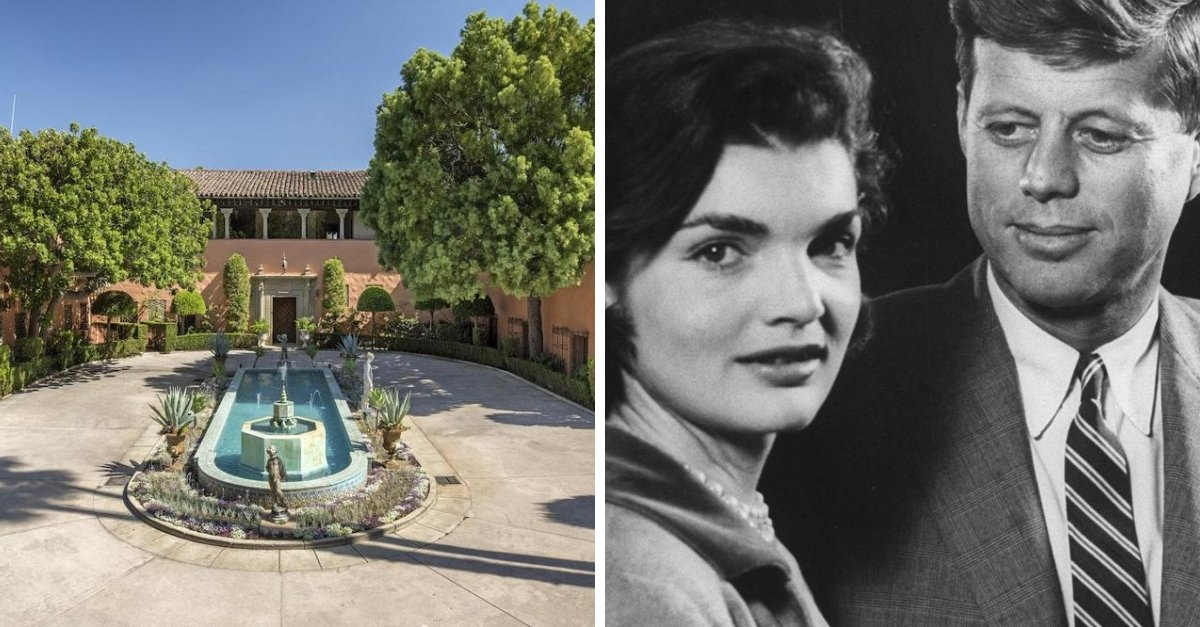 The House Where JFK And Jackie Kennedy Honeymooned Is On Sale For $135 Million
