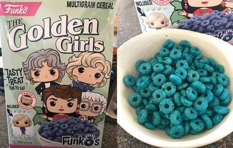 blue cereal