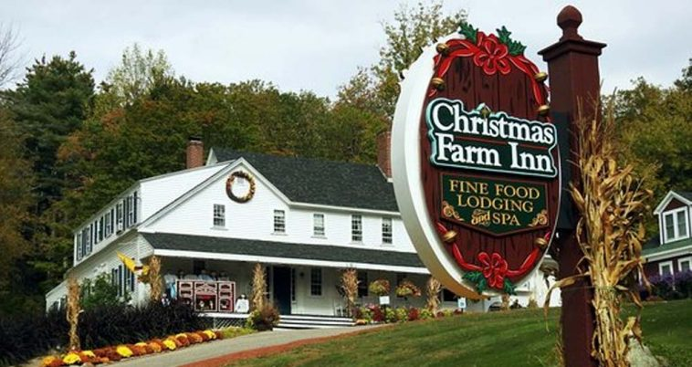 Christmas Farm Inn.There Is A Hotel Where You Can Celebrate Christmas All Year Long