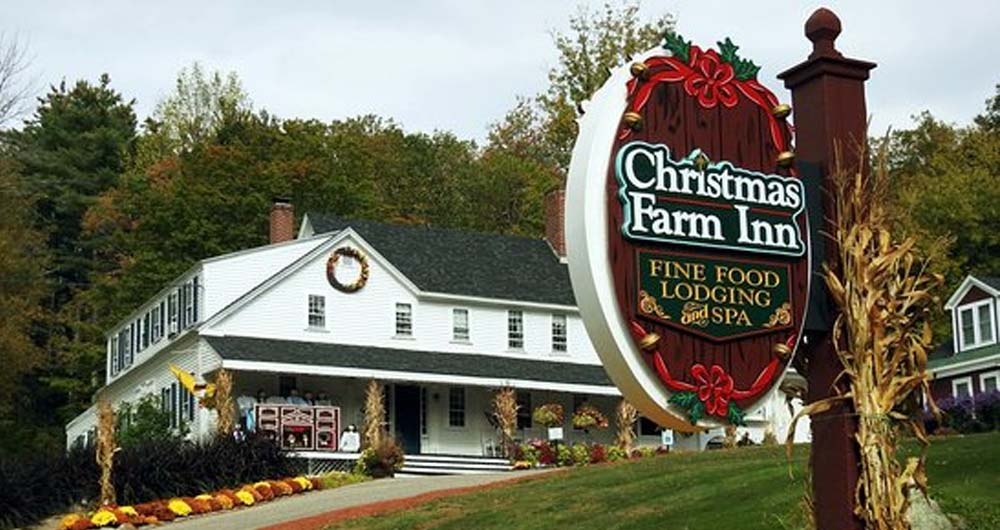 Christmas Farm Inn And Spa.There Is A Hotel Where You Can Celebrate Christmas All Year Long