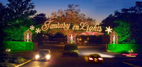 fantasy small town christmas lights