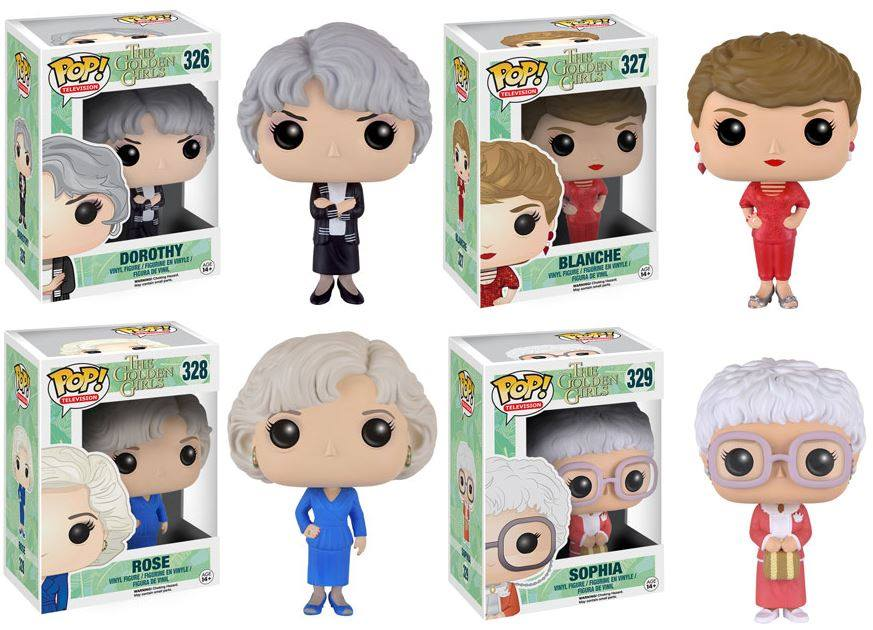 golden girls toys