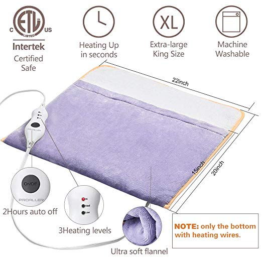 heating pad features