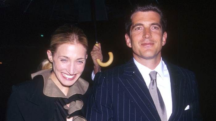 jfk jr and wife