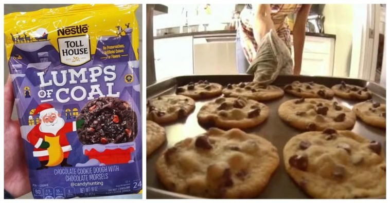 Nestle Toll House Now Sells Lump Of Coal Cookies