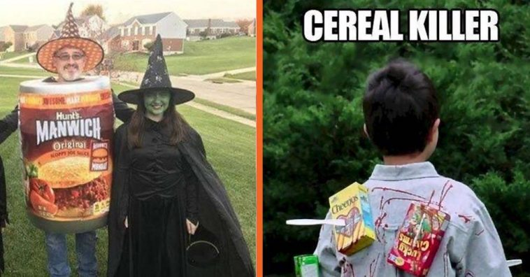 9 Of The Best Last Minute Punny Halloween Costumes Ever