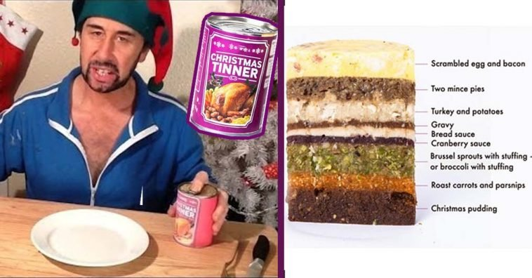 Christmas Tinner.Would You Ever Eat Christmas Dinner From A Can