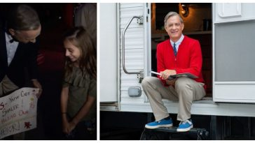 Jimmy Kimmel Debuts Less Wholesome Take On New 'Mr  Rogers' Film