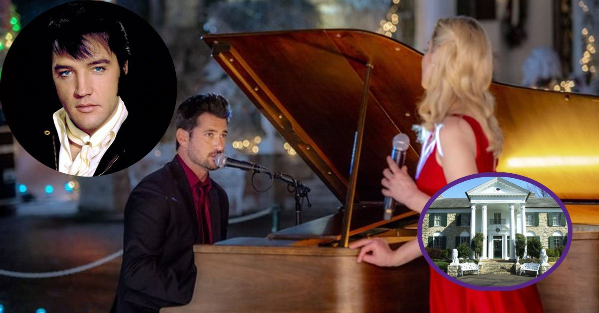 Christmas At Graceland Hallmark.Watch This Hallmark Christmas Movie To Get A Peek Of Elvis S