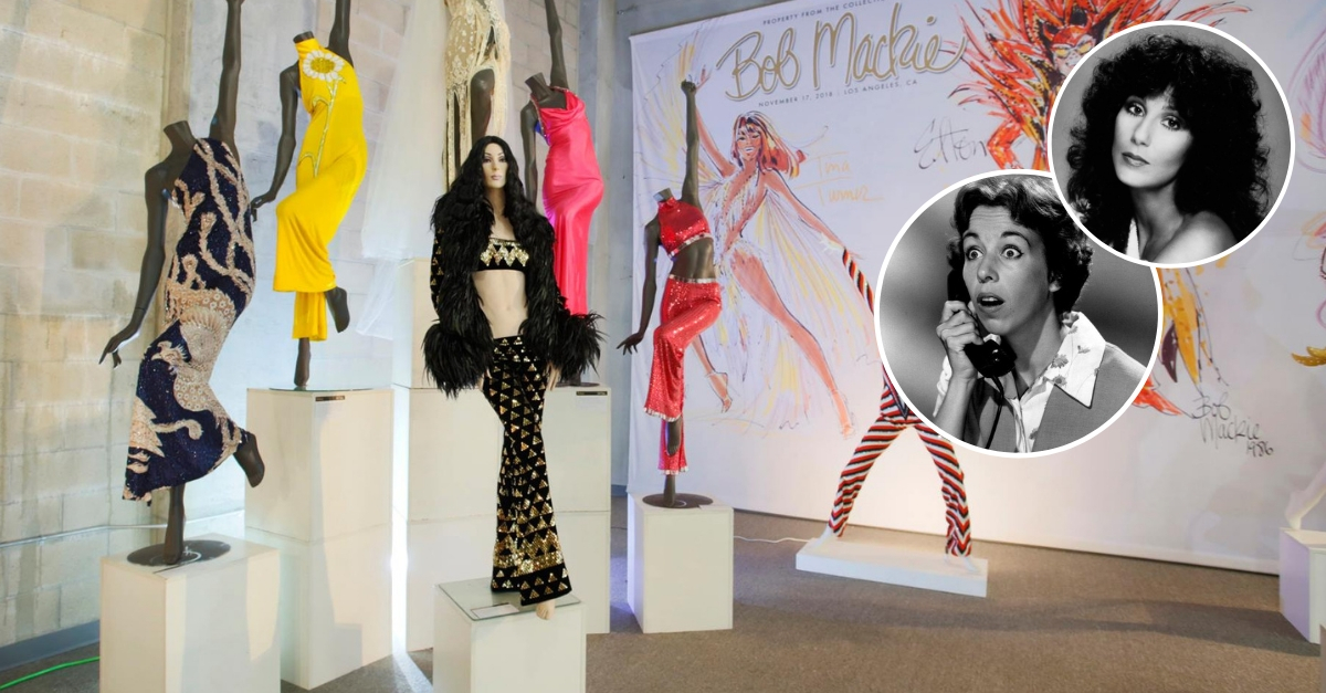 Carol Burnett And Cher's Designer Clothing Is Up For Auction! Here's Your First Look