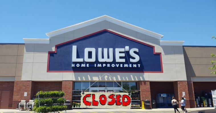 lowes-closed
