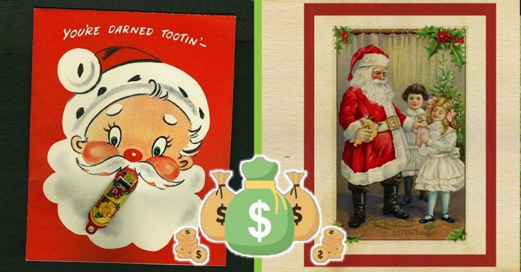 The Old Christmas Cards You Saved Could Be Worth Cash