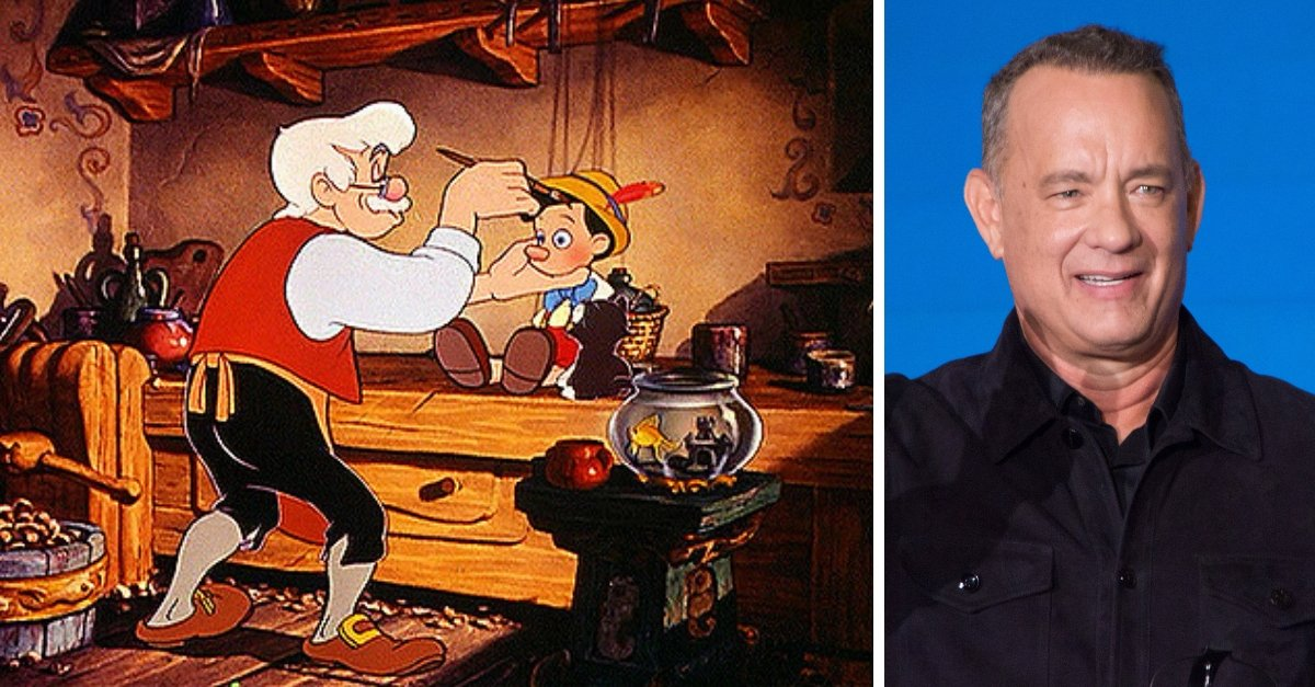 Tom Hanks Is In Talks To Play Pinocchio's Father In The Live-Action Disney Film