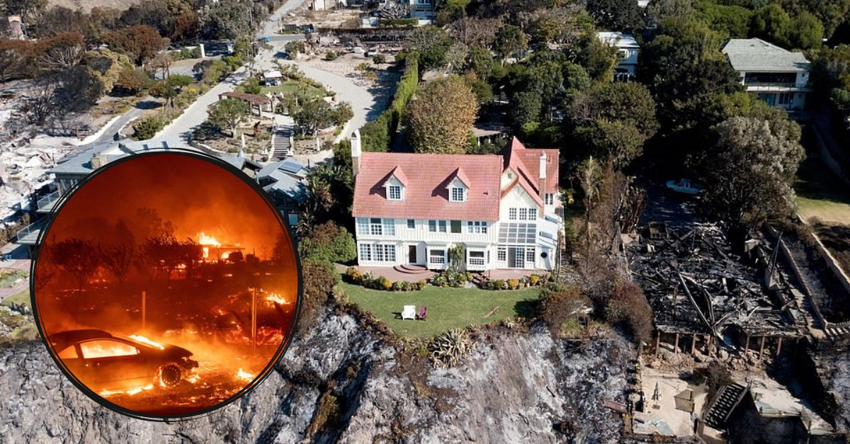 Anthony Hopkins' Home Is One Of Few To Survive Devastating Malibu Wildfires