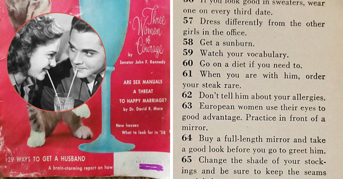 This 1958 Article Of 'Ways to Get a Husband' Proves How Much Dating Has Changed In 60 Years