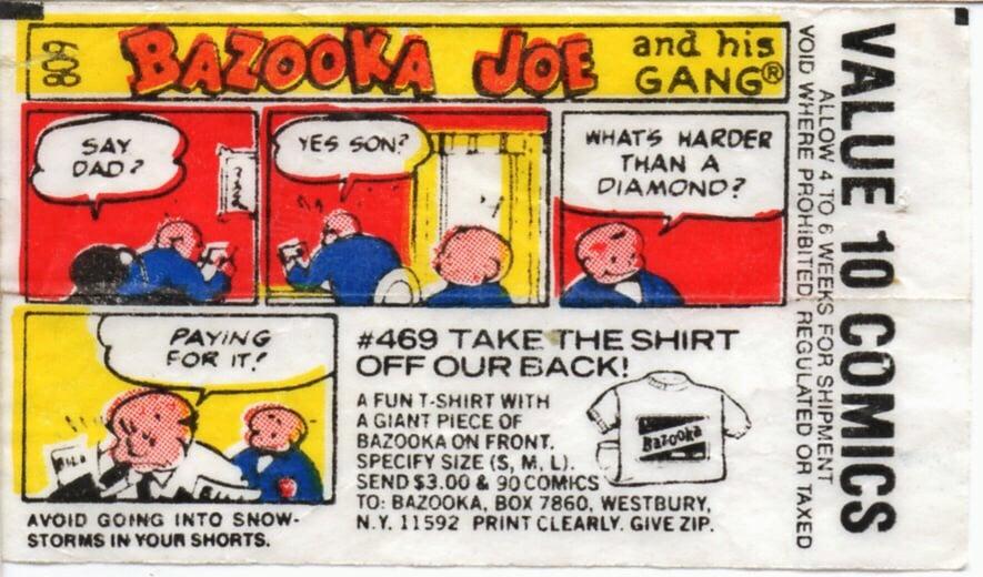 bazooka joe comics