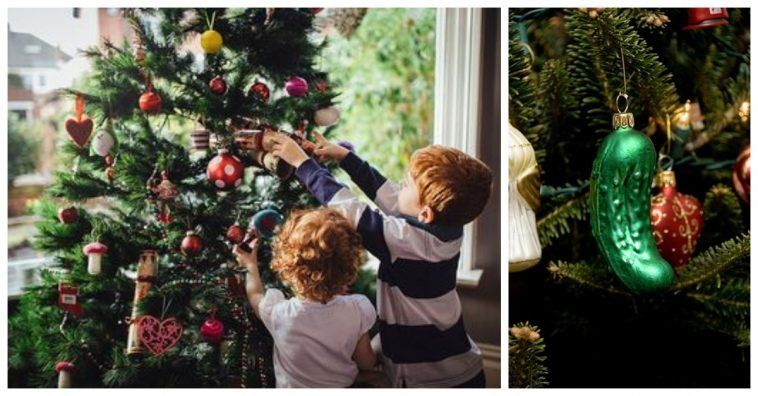 share - Pickle Christmas Ornament Story