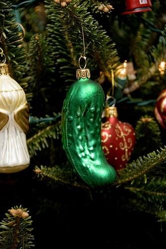 Christmas Pickle Christmas Tree Decorations