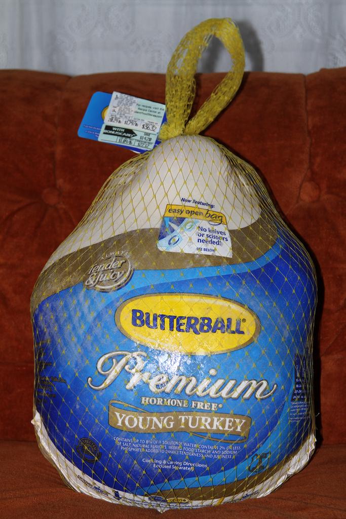 frozen turkey