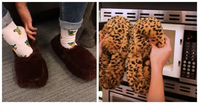 ac8c9f888aa You Can Keep Your Feet Warm All Winter With These Slippers That Go In The  Microwave. by. Jane Kenney 5 months ago. Share