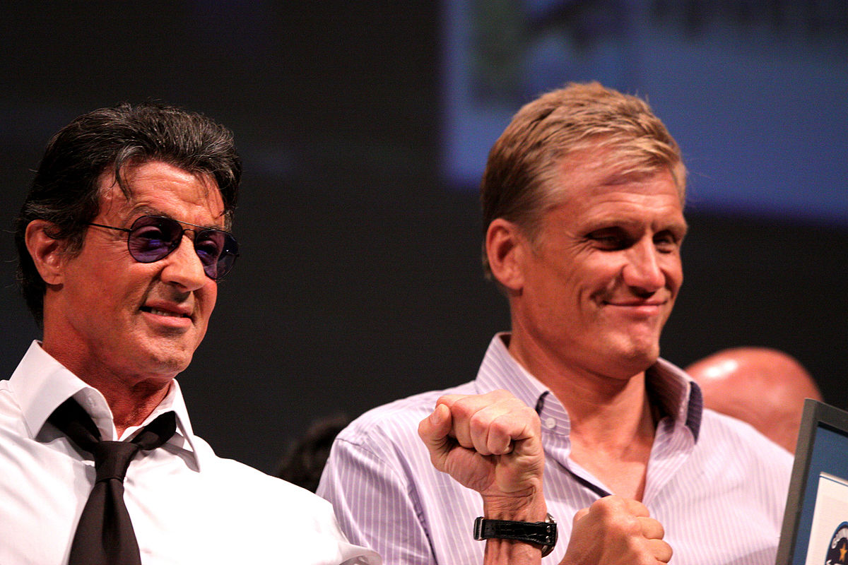 stallone and lundgren